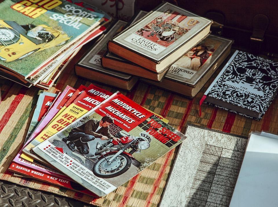 diseño de revistas creativas